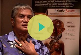Testimoni Survivor Kanker Akibat Rokok