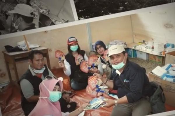 Dukungan TGC Promkes dan PM untuk Bencana Gempa, Tsunami Sulawesi Tengah
