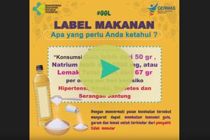 Jangan Lupa Cek Label Informasi Nilai Gizinya Ya