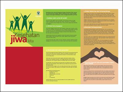 Brosur : Media Kit Kesehatan Jiwa
