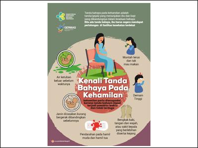 Flyer: Kenali Tanda Bahaya pada Kehamilan