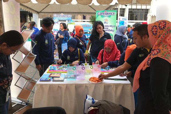 Pameran dan Edukasi Kesehatan Menyambut Hari Lansia Nasional 2019