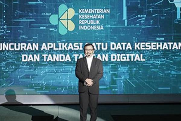 Peluncuran Aplikasi Satu Data Kesehatan dan Tanda Tangan Digital Kemenkes