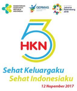 """HARI KESEHATAN NASIONAL KE 53, """"SEHAT KELUARGAKU, SEHAT INDONESIAKU"""""""