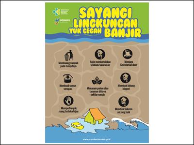 Flyer: Sayangi Lingkungan Cegah Banjir