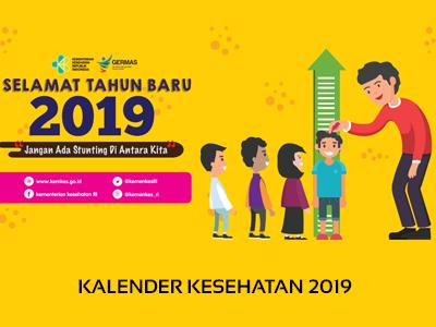 Kalender Kesehatan Promkes 2019