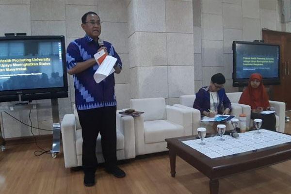 Launching Health Promoting di UGM Yogyakarta