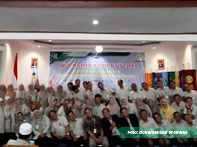 Workshop Kampus Sehat di Poltekkes Kemenkes Semarang
