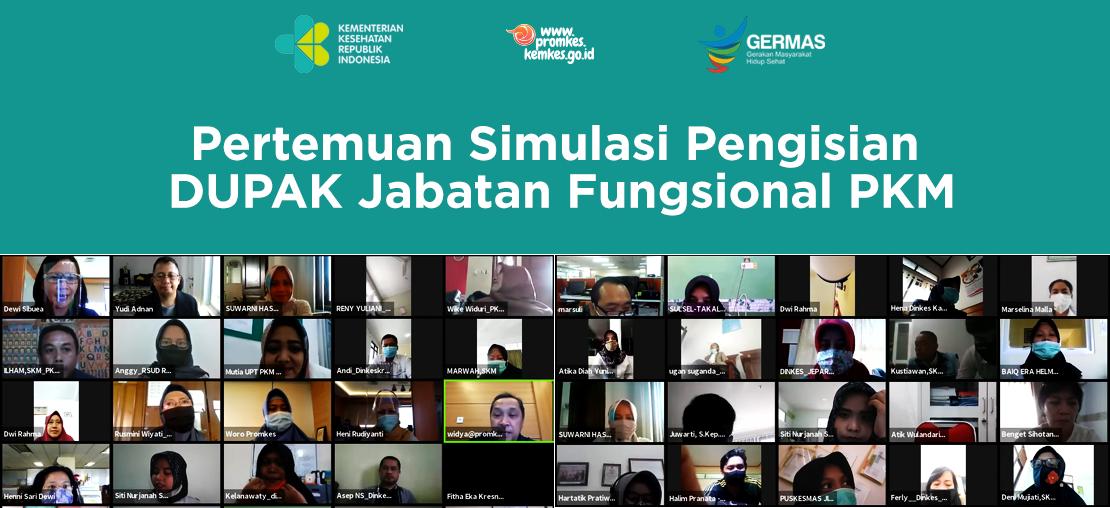 Slide_Pertemuan Simulasi Pengisian DUPAK Jabatan Fungsional PKM