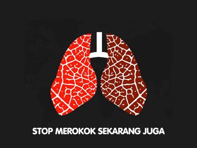 40% Lebih Perokok di Seluruh Dunia Meninggal karena Penyakit Paru-Paru
