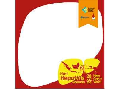 Twibbon Hari Hepatitis Sedunia 2021