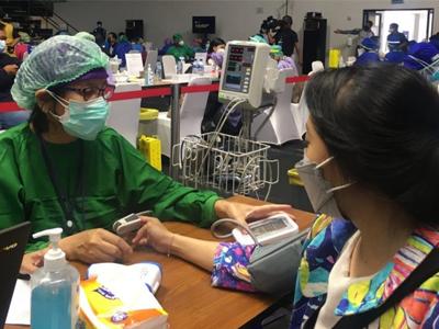 Dosis Vaksin Kedua Bagi Awak Media di Jabodetabek