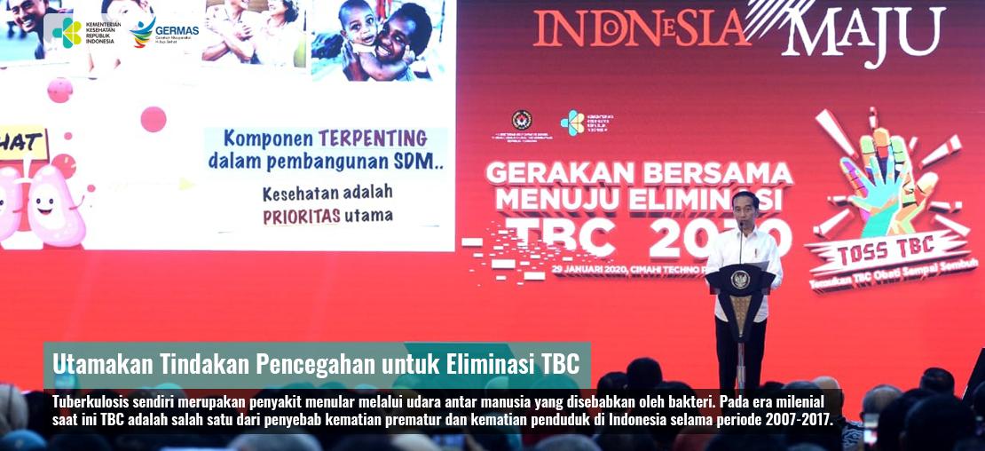 Utamakan Tindakan Pencegahan untuk Eliminasi TBC