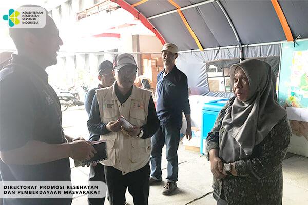 Dukungan Promkes Dalam  Penanganan Kesehatan Akibat Gempa dan Tsunami Palu dan Donggala