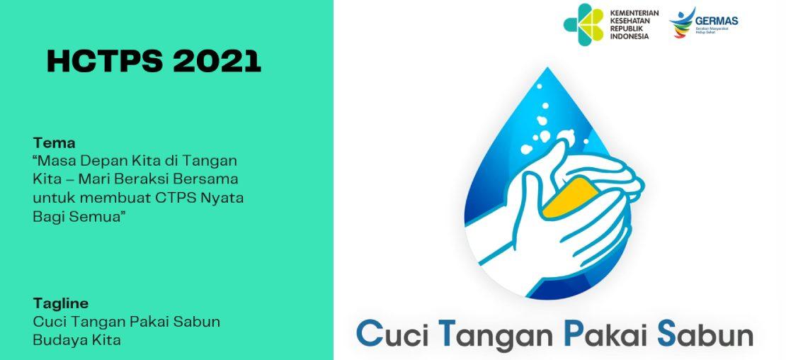 Ayo, Semarakkan Hari Cuci Tangan Pakai Sabun Sedunia 2021