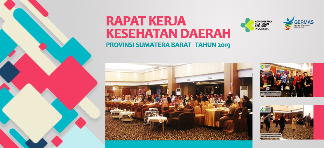 Slide_Rapat Kerja Kesehatan Daerah di Sumatera Barat Tahun 2019