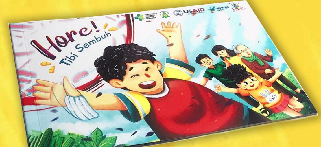 """Slide_Edukasi Tuberkulosis pada Anak dengan Buku Cerita """"Hore, Tibi Sembuh"""""""