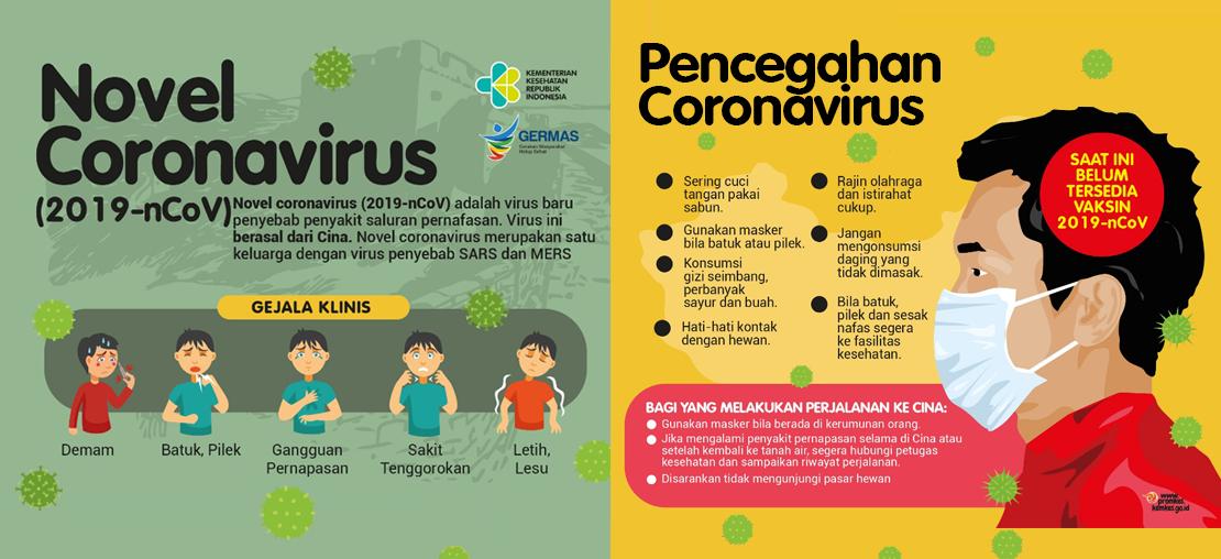 Informasi Tentang Virus Corona (Novel Coronavirus)